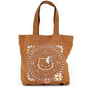 Hello Kitty Graphic Print Tote Bag